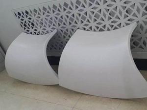 双曲异型铝单板